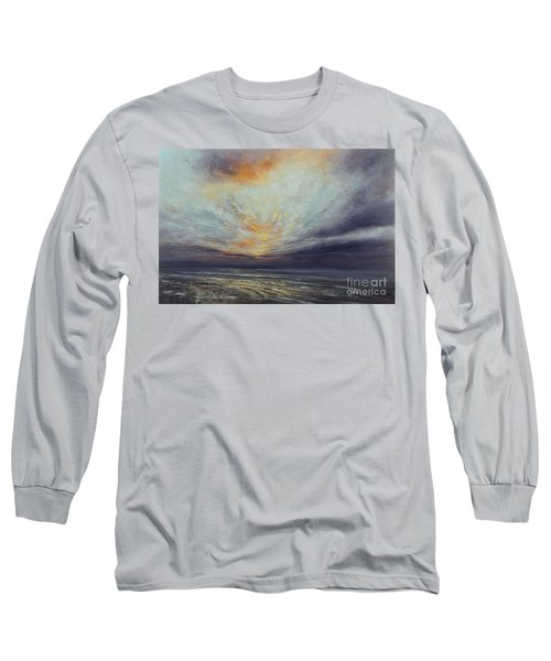 Reaching Higher Long Sleeve T-Shirt by Valerie Travers
