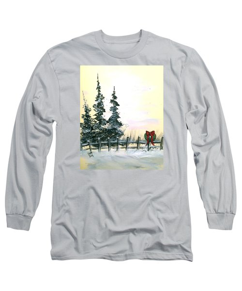 Long Sleeve T-Shirt featuring the painting Ready For Holidays by Dorothy Maier