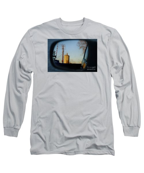 Long Sleeve T-Shirt featuring the digital art Rear View - The Places I Have Been by David Blank