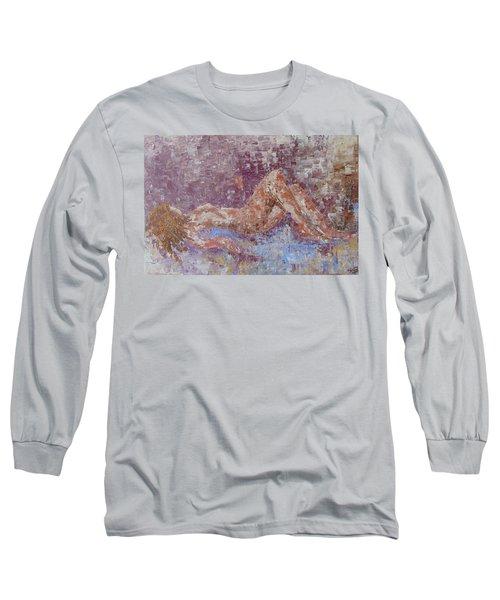 Recline Nude Long Sleeve T-Shirt
