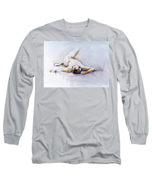 Reclining Study 6 Long Sleeve T-Shirt