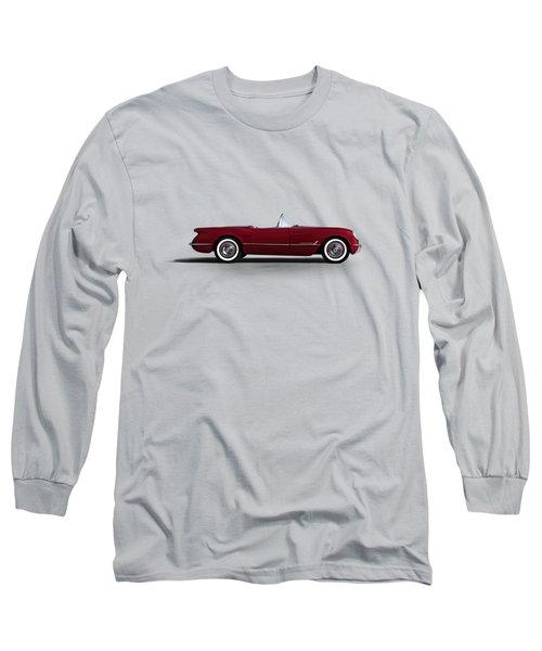 Red C1 Convertible Long Sleeve T-Shirt by Douglas Pittman