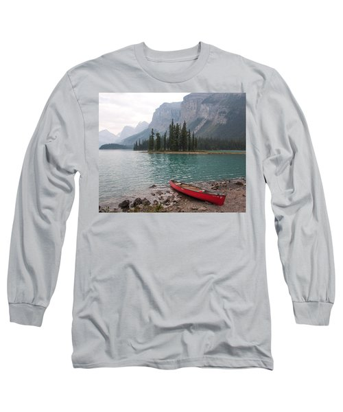 Red Canoe Long Sleeve T-Shirt