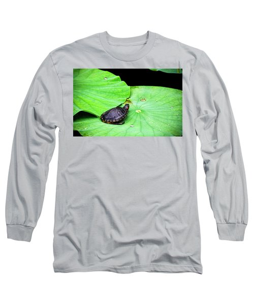 Red-eared Slider Long Sleeve T-Shirt