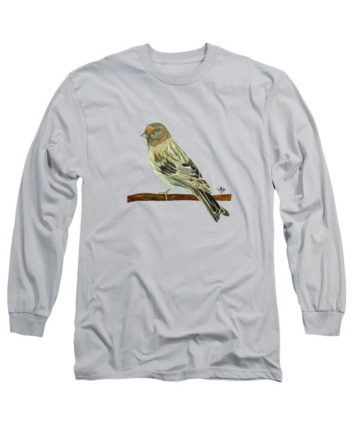 Red-fronted Serin Long Sleeve T-Shirt
