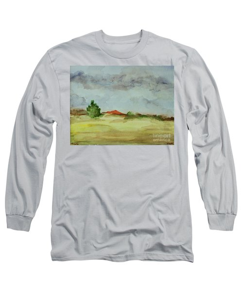 Red Hill Landscape Long Sleeve T-Shirt