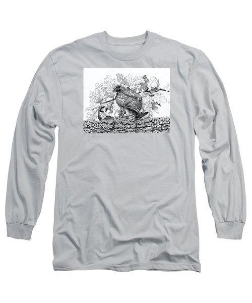 Red Tailed Huntress Long Sleeve T-Shirt