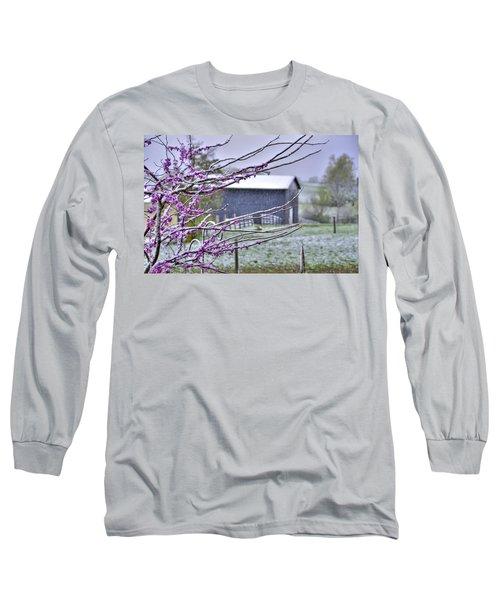 Redbud Winter Long Sleeve T-Shirt