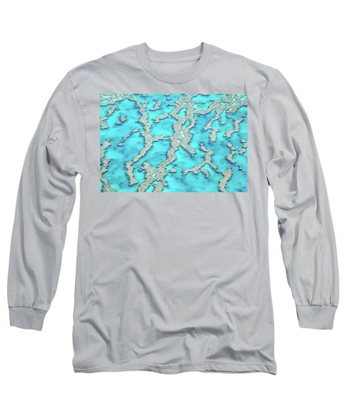 Long Sleeve T-Shirt featuring the photograph Reef Patterns by Az Jackson