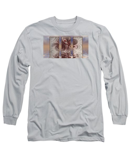 The Broken Fractal Long Sleeve T-Shirt