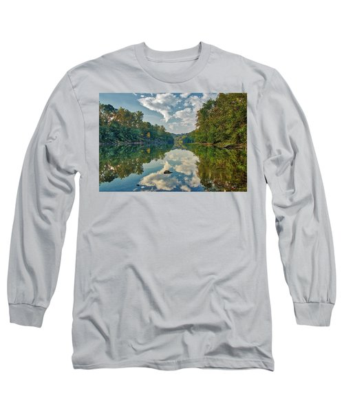 Reflections On The Meramec Long Sleeve T-Shirt