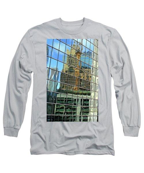 Reflective Chicago Long Sleeve T-Shirt