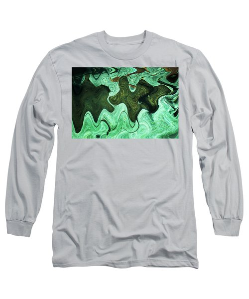 Relaxing Abstract Of Rays And Sharks Long Sleeve T-Shirt
