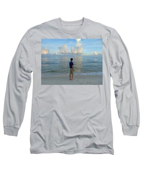 Relaxing By The Ocean Long Sleeve T-Shirt