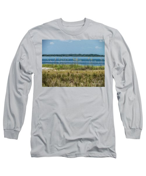 Relaxing On The Island Long Sleeve T-Shirt