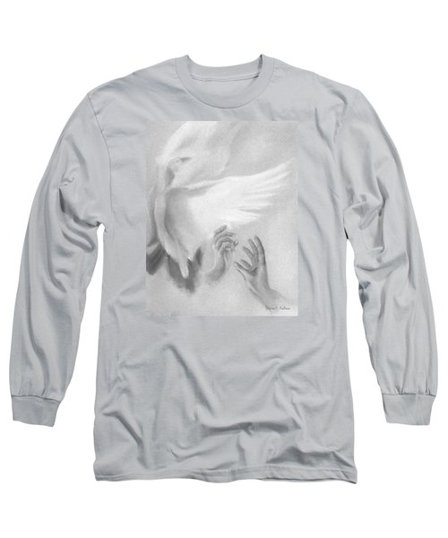 Release Long Sleeve T-Shirt by Denise Fulmer