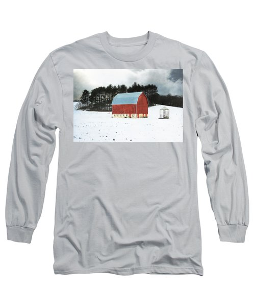 Rembering The Good Old Days Long Sleeve T-Shirt by Julie Hamilton