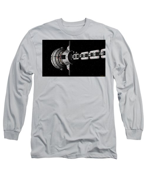Repairs In Space Long Sleeve T-Shirt