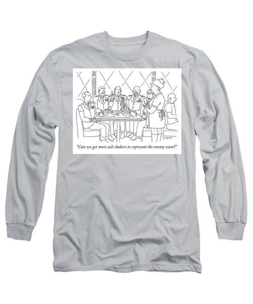 Representing Enemy Scum Long Sleeve T-Shirt