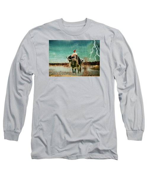 Rescue Long Sleeve T-Shirt by James Bethanis