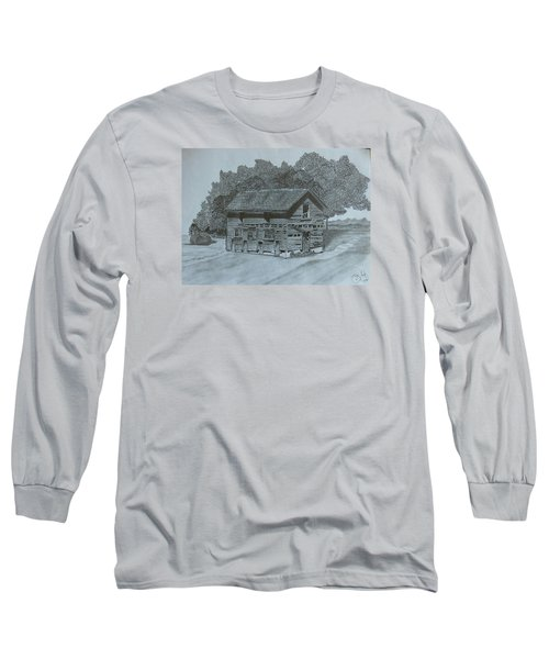 Rest In Pieces  Long Sleeve T-Shirt by Tony Clark