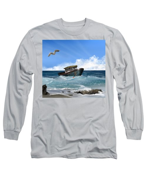 Retiring From The Fleet Long Sleeve T-Shirt