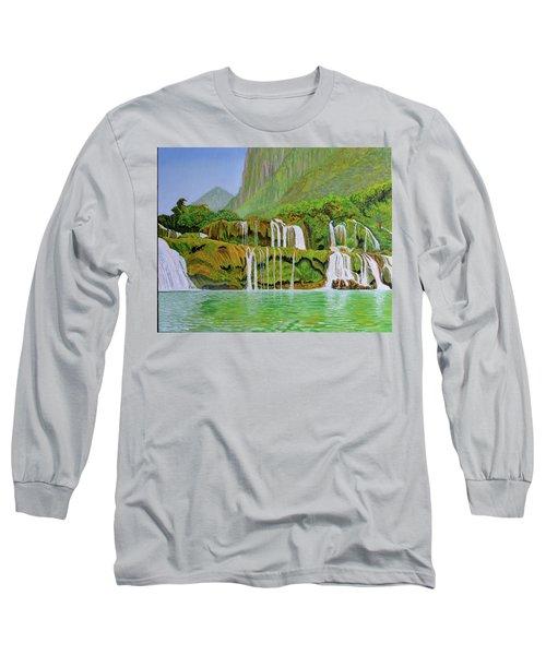 Returned To Paradise Long Sleeve T-Shirt by Thu Nguyen