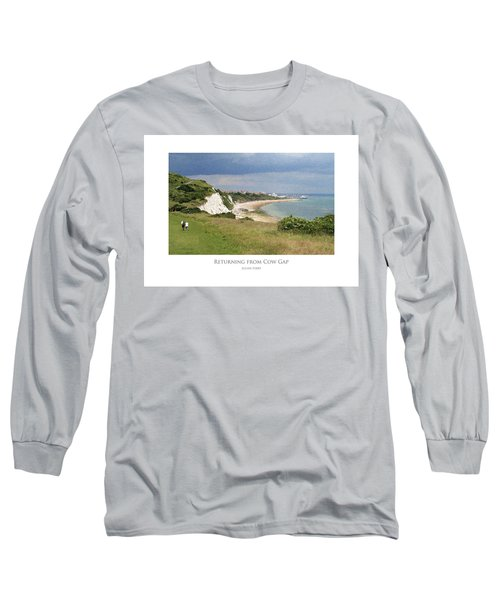 Returning From Cow Gap Long Sleeve T-Shirt
