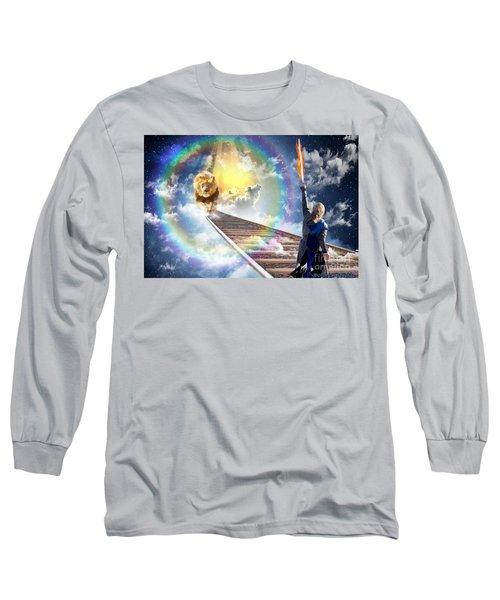 Long Sleeve T-Shirt featuring the digital art Reward by Dolores Develde