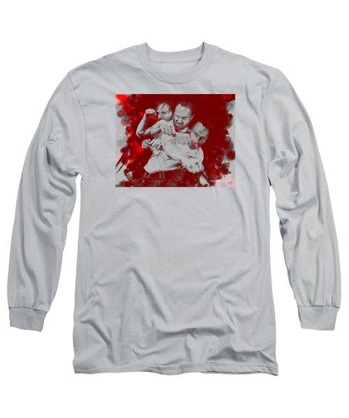 Rick Grimes Long Sleeve T-Shirt by David Kraig