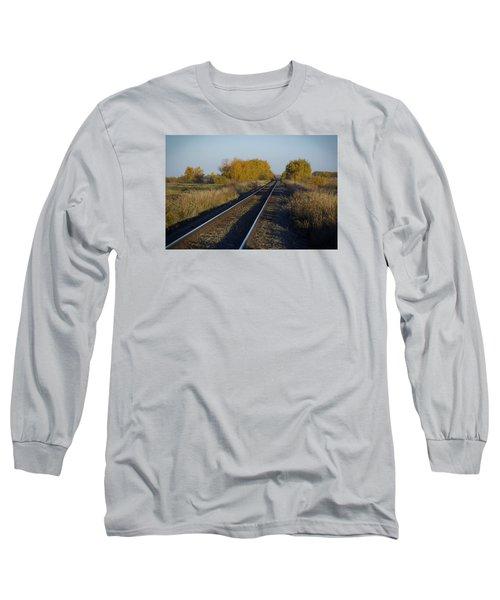 Riding The Rails Long Sleeve T-Shirt
