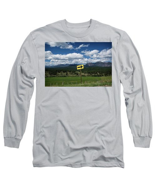 Right This Way Long Sleeve T-Shirt