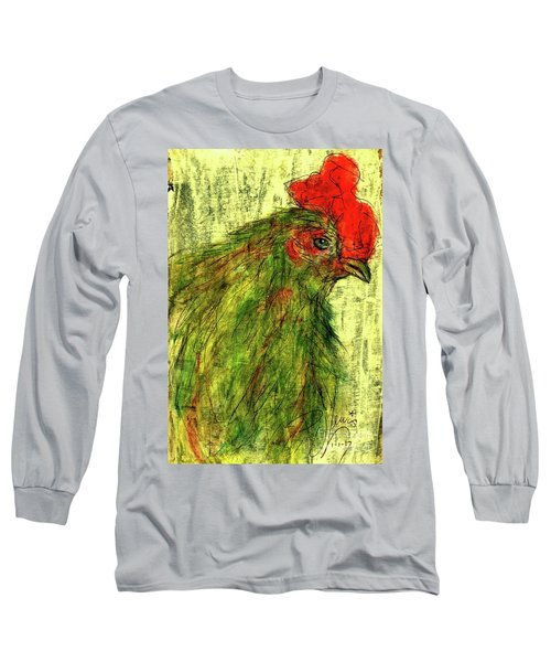 Long Sleeve T-Shirt featuring the drawing Rise And Shine  by P J Lewis