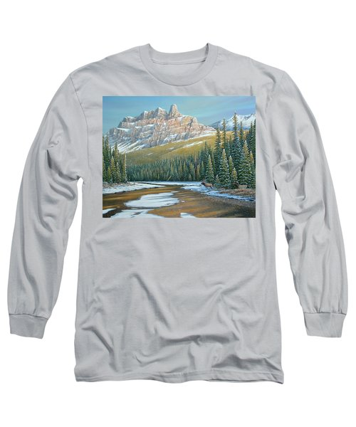 Rising Over The Valley Long Sleeve T-Shirt