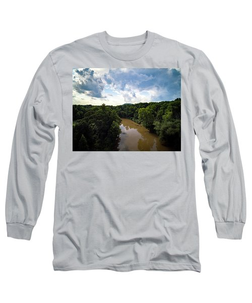 River View From Above Long Sleeve T-Shirt