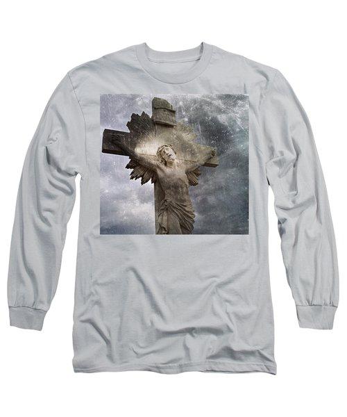 Riverside Cemetery Cross Long Sleeve T-Shirt