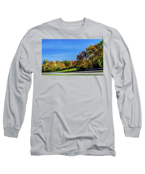 Road America In The Fall Long Sleeve T-Shirt