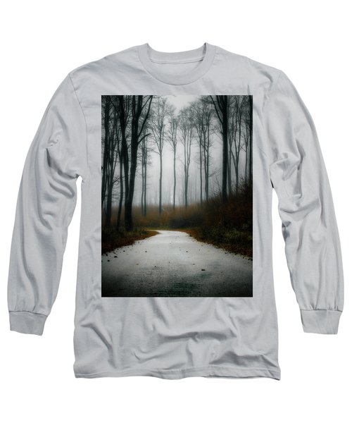 Road In The Fog 07/11/17 Long Sleeve T-Shirt