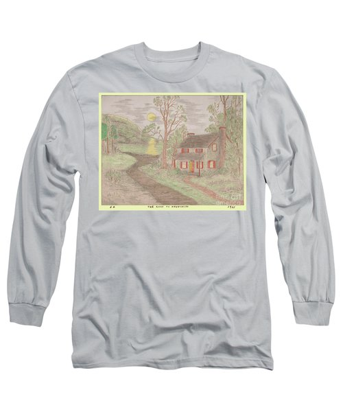 Road To Happiness Long Sleeve T-Shirt