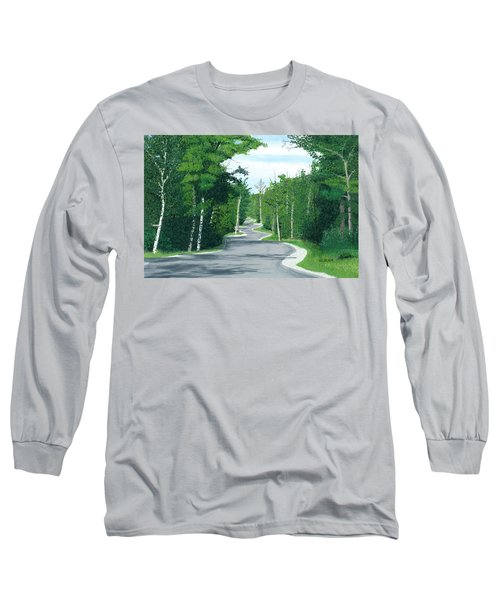 Road To Northport - Summer Long Sleeve T-Shirt