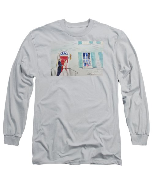 Robert And Anne At Gratz Park Long Sleeve T-Shirt