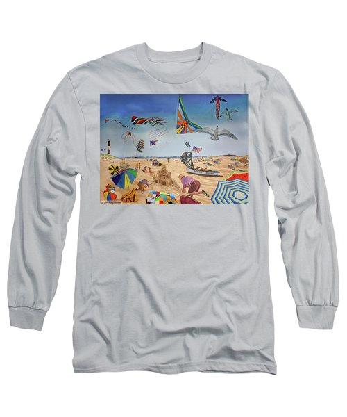 Robert Moses Beach Long Sleeve T-Shirt