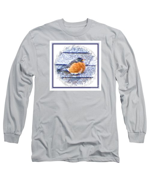 Robin Too Fat To Fly Long Sleeve T-Shirt