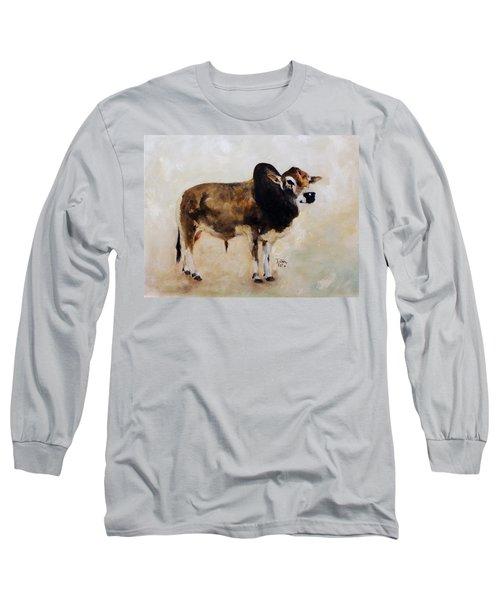 Rocket The Master Champion Herd Sire Miniature Zebu Long Sleeve T-Shirt