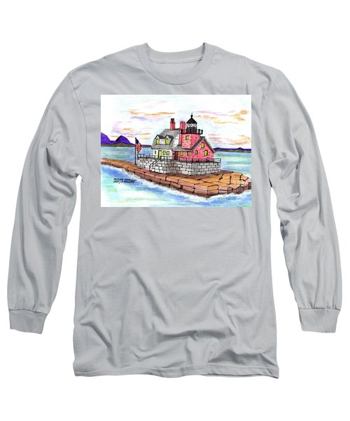 Rockland Breakwater Light Long Sleeve T-Shirt by Paul Meinerth