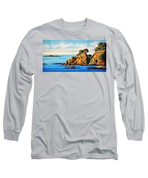 Rocks At Palafrugel,calella, Spain Long Sleeve T-Shirt