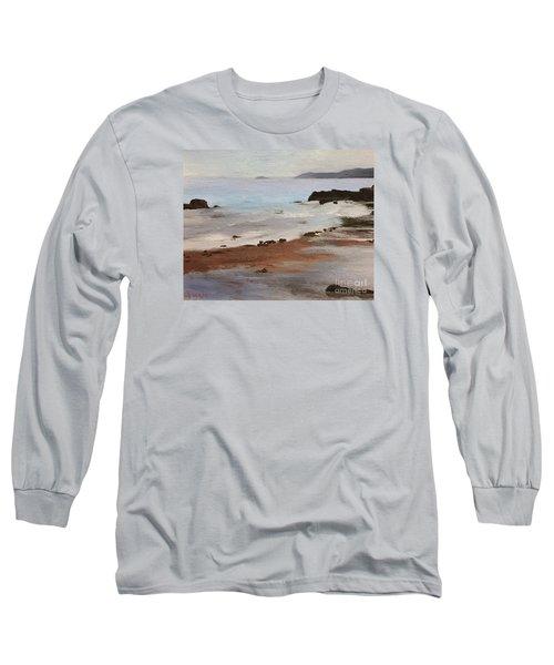 Rocky Neck Beach Long Sleeve T-Shirt