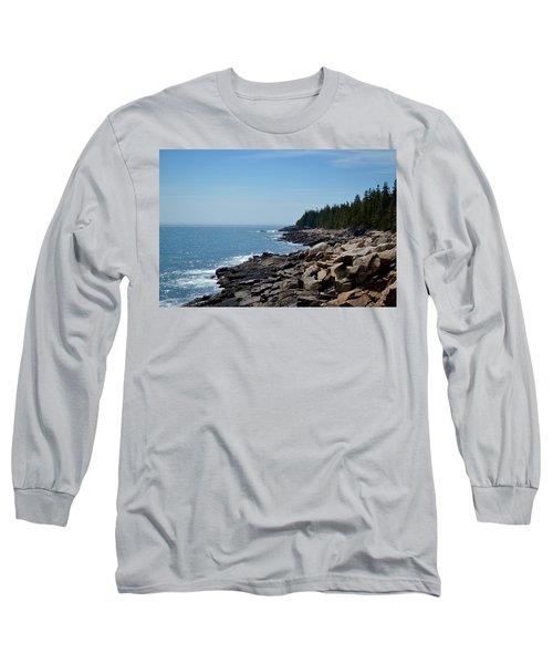 Rocky Summer Shore Long Sleeve T-Shirt