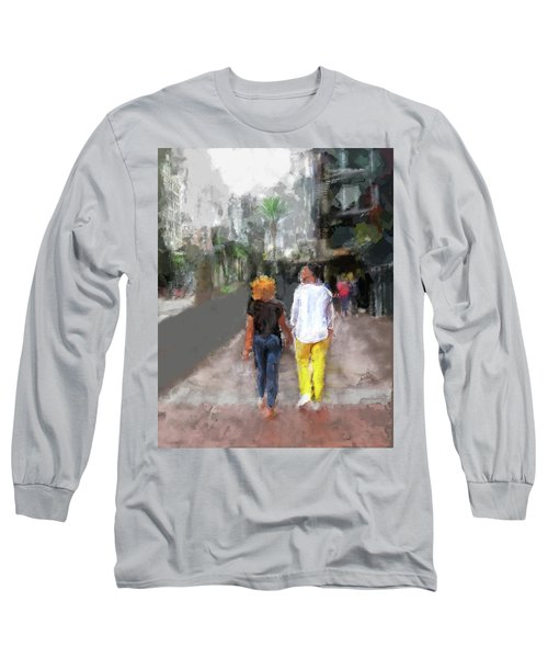 Romantic Couple Long Sleeve T-Shirt