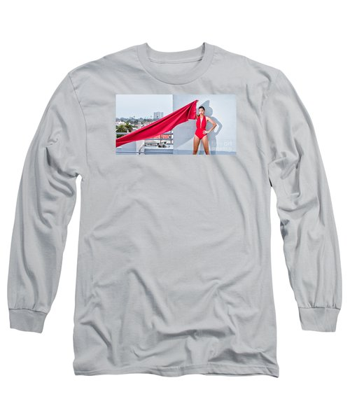Rooftop Long Sleeve T-Shirt by Gregory Worsham